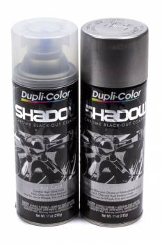 Dupli-Color - Dupli-Color Shadow Paint Kit 2 Step Coating Black Chrome 11.00 oz Aerosol - Kit