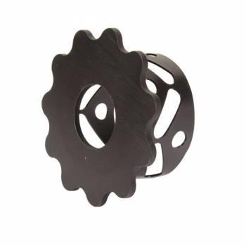 "Wehrs Machine - Wehrs Machine Lower Spring Cup Steel Black 5"" Springs - Adjuster Nut Side"