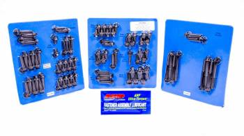 ARP - ARP Hex Head Engine and Accessory Fastener Kit Chromoly Black Oxide Ford FE-Series - Kit