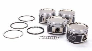 Wiseco - Wiseco Sports Compact Piston and Ring Forged 85.50 mm Bore 1.0 x 1.2 x 2.8 mm Ring Groove - Minus 17.0 cc