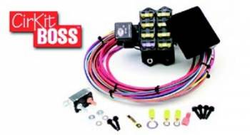 Painless Performance Products - Painless Performance Products Auxiliary Fuse Block 7 Circuit Weather Resistant Harness/Relay - Universal