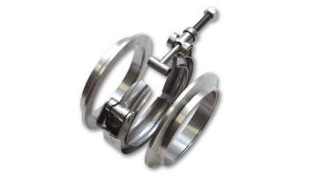 "Vibrant Performance - Vibrant Performance 2-3/8"" V-Band Flanges V-Band Clamp Stainless - Natural"