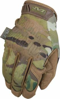 Mechanix Wear - Mechanix Wear Shop Gloves The Original Multicam Velcro Closure Spandex/Synthetic Leather - Camo/Tan
