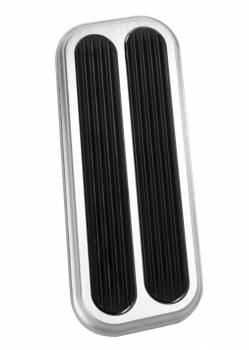 Lokar - Lokar Gas Pedal Pad Billet Aluminum Brushed Ford Bronco 1966-77 - Each