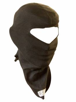 PXP RaceWear - PXP RaceWear Single Eyeport Head Sock SFI-3.3 Single Layer Lenzing FR® - Black