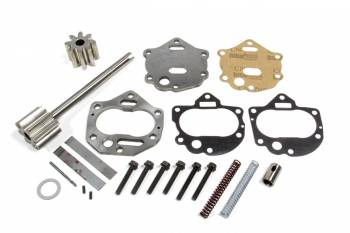 Melling Engine Parts - Melling Engine Parts High Volume Oil Pump Rebuild Kit Drive Gear Pressure Relief Springs Space Plate Assembly - Gasket/Hardware - Big Block Buick