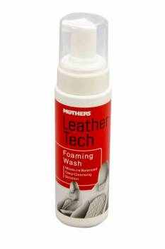 Mothers Polishes-Waxes-Cleaners - Mothers Polishes-Waxes-Cleaners Leather Wash Interior Protectant 8 oz Bottle