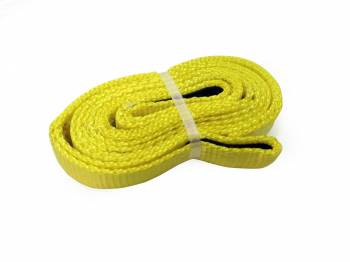 "Mile Marker - Mile Marker 1"" Wide Tow Strap 8 ft Long 7,200 lb Capacity Nylon - Yellow"