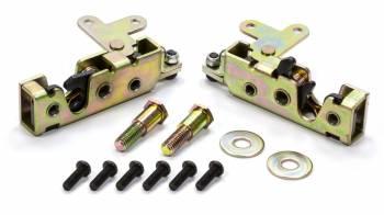 AutoLoc - AutoLoc Mini Bear Claw Door Latch Manual Locking Hardware/Strikers Included Steel - Zinc Oxide