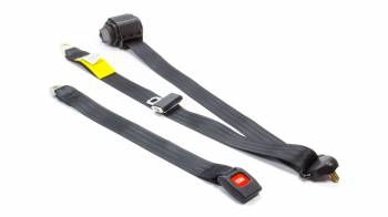 Beams Seatbelts - Beams Seatbelts Lap/Shoulder Seat Belt Push Button Buckle Retractable Bolt-On - Floor Mount