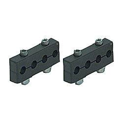 R&M Specialties - R&M Specialties 4 Wire Spark Plug Wire Loom Floating Clamp Style 7-9 mm - Plastic