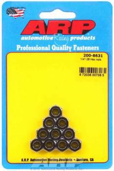 "ARP - ARP 1/4-28"" Thread Nut 7/16"" Hex Head Chromoly Cadmium - Universal"