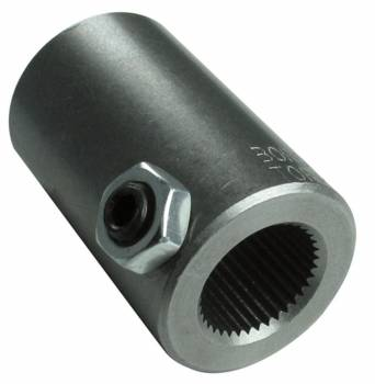 """Borgeson - Borgeson 3/4-30"""" Spline to 3/4"""" Smooth Steering Shaft Coupler Steel Natural Universal - Each"""