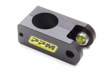 """PPM Racing Products - PPM Racing Products Clamp-On 5th Coil Mount Bracket 4"""" Long Aluminum Black Anodize - 1-1/2"""" OD Tube"""