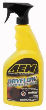 AEM Induction Systems - AEM Induction Systems Dryflow Air Filter Cleaner 32 oz Spray Bottle