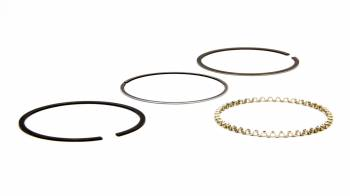 """Wiseco - Wiseco 3.810"""" Bore Piston Rings Drop"""" 1/16 x 1/16 x 3/16"""" Thick Standard Tension - Plasma Moly"""