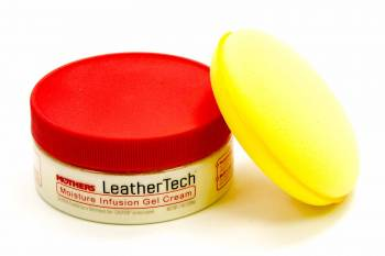 Mothers Polishes-Waxes-Cleaners - Mothers Polishes-Waxes-Cleaners Leather Cream Interior Protectant Applicator - 7 oz Can