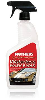 Mothers - Mothers Polishes-Waxes-Cleaners California Gold Waterless Wash and Wax Spray Wax Waterless Wash - 24 oz Spray Bottle
