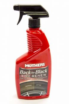 Mothers Polishes-Waxes-Cleaners - Mothers Polishes-Waxes-Cleaners Back to Black Tire Renew Tire Cleaner 24 oz Spray Bottle