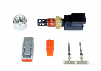 "AEM Electronics - AEM Electric Air Temperature Sensor 1/8"" NPT Male Thread Aluminum Weld-On Bung Universal - Kit"