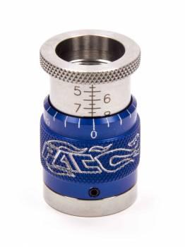 """PAC Racing Springs - PAC Racing Springs 1.400-2.000"""" Range Valve Spring Height Gauge 0.001"""" Scale Blue Anodize Beehive Springs - Each"""