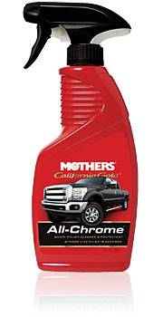 Mothers - Mothers Polishes-Waxes-Cleaners California Gold All Chrome Metal Polish 12.00 oz Spray Bottle