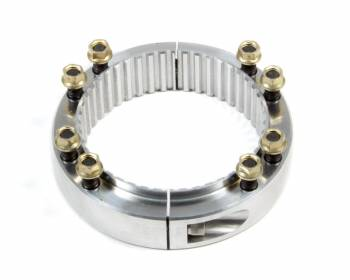 Ultra-Lite Brakes - Ultra-Lite Brakes Hub Only Brake Rotor Adapter 46 Spline Aluminum Clear Anodize - Sprint Car Hub