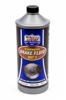 Lucas Oil Products - Lucas Oil Products DOT 3 Brake Fluid Synthetic - 1 qt