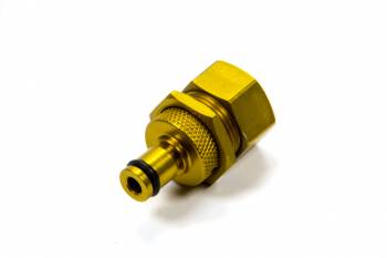 Kwik-Change Products - Kwik-Change Products Next Generation Tire Pressure Relief Valve Adjustable Aluminum Gold Anodize - Each