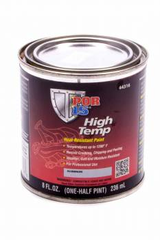 POR-15 - Por-15 High Temp Paint Urethane Aluminum 8.00 oz Can - Each