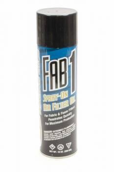 Maxima Racing Oils - Maxima Racing Oils Fab1 Air Filter Oil 13.0 oz Aerosol Fabric Filters - Each