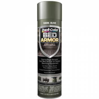 Dupli-Color / Krylon - Dupli-Color Bed Armor Bedliner Rubberized Dark Olive Green 16.50 oz Aerosol - Each