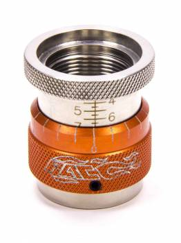 "PAC Racing Springs - PAC Racing Springs 1.400-1.900"" Range Valve Spring Height Gauge 1.200"" ID 0.050"" Per Turn Orange Anodize - Each"
