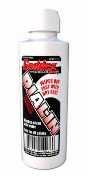 Geddex - Geddex Dial-In Dial-In Marker Window White Safe on Glass/Polycarbonate/Rubber - 3 oz Bottle/Applicator