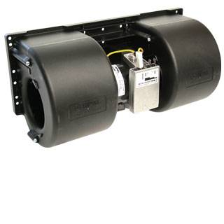 SPAL Advanced Technologies - SPAL Advanced Technologies Centrifugal Blower Motor Double Wheel 12V Plastic - Black