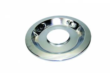 """Specialty Products - Specialty Products 14"""" Round Air Cleaner Base 5-1/8"""" Carb Flange Drop Base Steel - Chrome"""