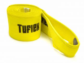 "Tuflex - Tuflex 6"" Wide Tow Strap 30 ft Long 45,000 lb Capacity Nylon - Yellow"