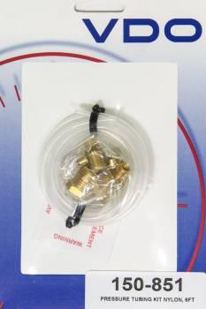 """VDO - VDO 6 ft Gauge Tubing 1/8"""" OD Brass Fittings Plastic - Kit"""