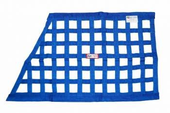 "RJS Racing Equipment - RJS Ribbon Grand National Window Net - Blue - 23"" x 18"" x 32"""