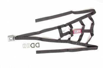 RJS Racing Equipment - RJS USAC Roll Cage Net - Black