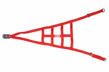 RJS Racing Equipment - RJS USAC Roll Cage Net - Red
