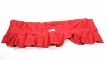 RJS Racing Equipment - RJS Helmet Skirt - Red