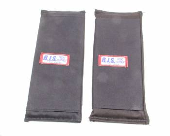 """RJS Racing Equipment - RJS 3"""" Shoulder Harness Pads - Black"""