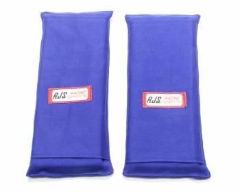 "RJS Racing Equipment - RJS 3"" Shoulder Harness Pads - Blue"