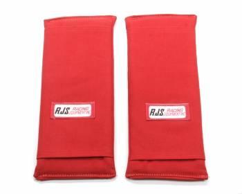 "RJS Racing Equipment - RJS 3"" Shoulder Harness Pads - Red"