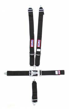 "RJS Racing Equipment - RJS 5-Point Restraint System - Individual Shoulder Harness - Bolt-In Mount - 3"" Anti-Sub - Black"