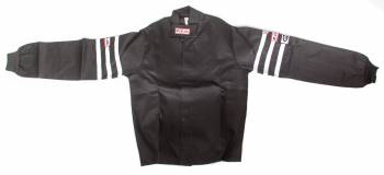RJS Racing Equipment - RJS Proban Driving Suit Jacket (Only) - 1 Layer - Black - Medium