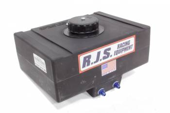 "RJS Racing Equipment - RJS Racing Equipment Drag Race Fuel Cell 8 gal 19-3/4 x 14-5/8 x 7-1/2"" Tall 8AN Male Outlets - 6AN Male Vent"