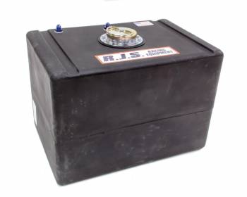 """RJS Racing Equipment - RJS Racing Equipment Economy Fuel Cell 32 gal 25-1/2 x 17-1/2 x 17-1/2"""" Tall 8AN Male Outlet - 6AN Male Vent"""