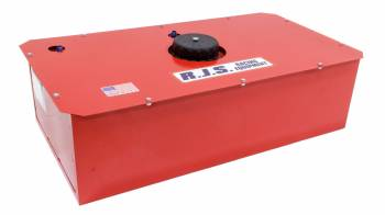 "RJS Racing Equipment - RJS Racing Equipment Economy Fuel Cell and Can 22 gal 33 x 17-1/4 x 9-1/2"" Tall 8AN Male Outlet - 6AN Male Vent"
